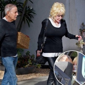 Dolly Parton secret husband, with her friend and attorney Jerry Edelstein