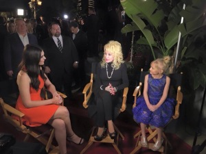 Dolly Parton  and Alyvia Lind Movie Guide Gala 2016