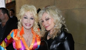 Dolly Parton, Stella Parton at premiere of Coat Of Many Colors in LA