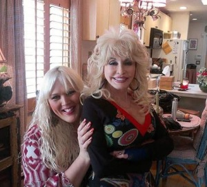 Hairstylist Shana Taylor and Dolly Parton