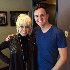 Dolly Parton and Curtis Braly at Kent Wells Productions