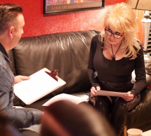 Dolly Parton at Sound Biscuits Productions